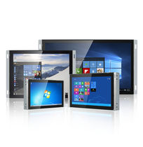 Capacitive touch screen panel PC / 1024 x 600 / 1920 x 1200 / Intel® Celeron N2930