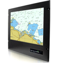 Touch screen screen / LCD/TFT / 1600 x 1200 / panel-mount