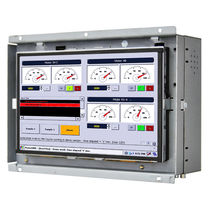 Panel PC with touch screen / 800 x 480 / dual-core / open frame