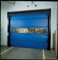 Folding doors / steel / PVC / polyethylene
