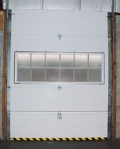 Sectional doors / hinged / lift-and-slide / industrial