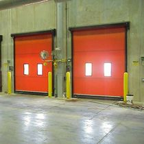 Roll-up doors / aluminum / fabric / steel