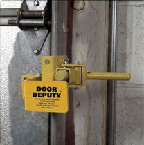 Safety locking device for doors