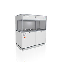 Ultrasonic cleaning machine / automatic / process / for medical applications