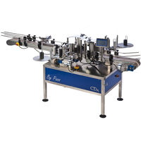 Automatic labeler / for self-adhesive labels / side / for bottles