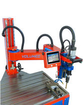 CNC drilling and tapping machine / swing-arm