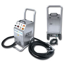Electric dry ice blasting machine / single-hose