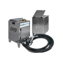 Pneumatic dry ice blasting machine / compact / single-hose