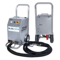 Pneumatic dry ice blasting machine / automatic / compact / single-hose