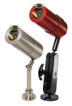 Flame detector / infrared / ultraviolet light / for fire safety applications