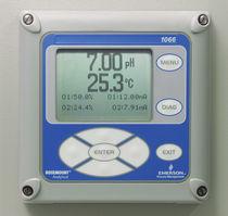 Oxygen analyzer / liquid / pH / conductivity