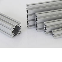 Aluminum profile / grooved / frame