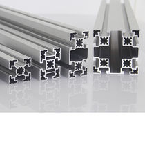 Aluminum profile / grooved / for conveyors