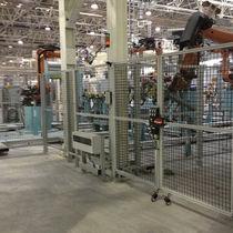 Aluminum profile / T-slot / for machine guards