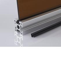 U-shaped seal / elastomer / for profiles / filling