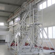 Aluminum profile / tubular / for ladders
