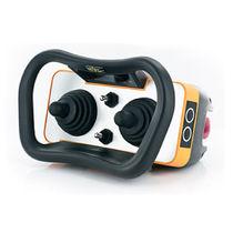 Radio remote control / joystick / IP65 / compact