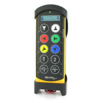 Radio remote control / 10-button / IP65 / with integrated display