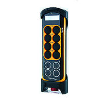 Radio remote control / 12-button / with integrated display / compact