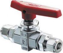 Plug valve / lever / standard / 3-way