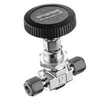 Needle valve / for aggressive media