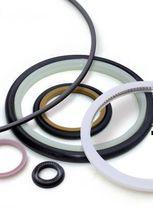 O-ring seal / circular / PTFE / high-temperature