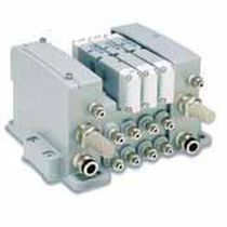 Direct-operated pneumatic directional control valve / base-mounted