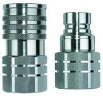 Quick coupling / straight / hydraulic / pollution control