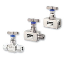 Needle valve / manual / manifold / for pressure gauges