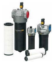 Hydraulic filter / cartridge / medium-pressure / aluminum