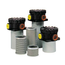 Hydraulic filter / cartridge / low-pressure / return-line