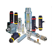Variable-area flow meter / for water / for oil / non-contact