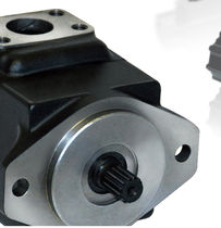 Hydraulic rotary vane pump / fixed-displacement / for industrial applications