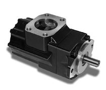 Rotary vane pump / fixed-flow / fixed-displacement