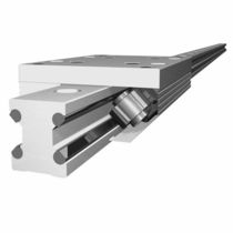 Crossed roller linear guide / aluminum / silent / rustproof