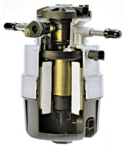 Fuel separator filter / water