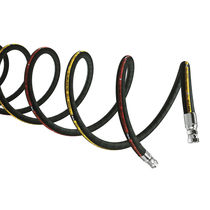 Hydraulic hose / high-pressure / rubber / small bend radius