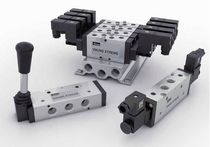 Electrically-operated pneumatic directional control valve / for extreme conditions