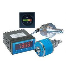 Liquid humidity sensor / screw-in / for hydraulic systems / high-precision