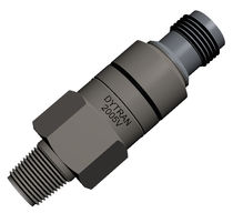 Relative pressure sensor / piezoelectric / analog / stainless steel