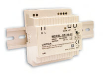 AC/DC power supply / DIN rail / single-phase / switching