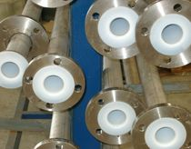 Chlorine pipe / stainless steel / PTFE-lined