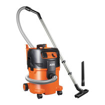Wet and dry vacuum cleaner / single-phase / industrial / mobile