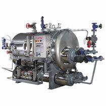 Superheated steam steam generator / horizontal
