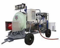Steam boiler / gas / fire tube / mobile