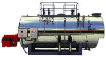 Steam boiler / gas / smoke tube / horizontal