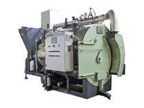 Steam boiler / biomass / fire tube / two-pass
