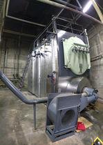 Steam heater / biomass / fire tube