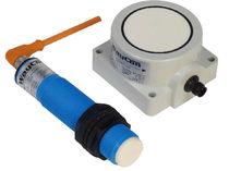 Cylindrical distance sensor / ultrasonic / IP65