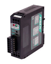 DIN rail signal conditioner / configurable / for sensors / for displacement sensors
